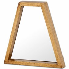 Antiqued Gold Wood Wall Mirror