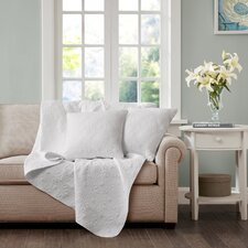 Hudson Quilted Throw Pillow (Set of 2)