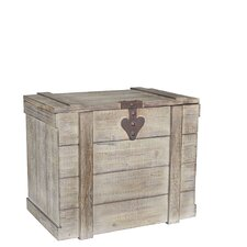 Large Wooden Home Chest by Household Essentials