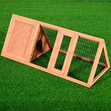 Wooden Rabbit Hutch with Enclosure Run