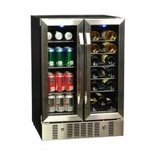 18 Bottle Dual Zone Convertible Wine Cooler
