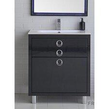 Platinum 32 Due Single Bathroom Vanity Set by Fresca