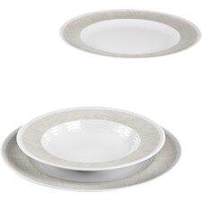 Marina Canvas 12 Piece Tableware Set