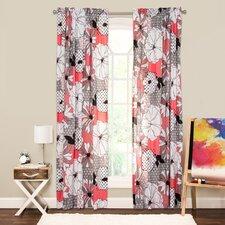 Crayola Flower Patch Single Curtain Panel