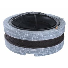 Patio Metal Charcoal Fire Pit