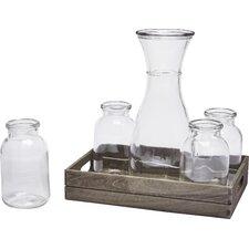 Morsela 6-Piece Beverage Dispenser Set