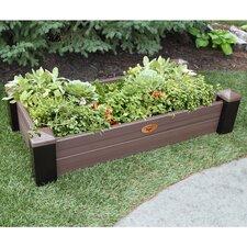 Maintenance 4 ft x 2 ft Plastic Raised Garden