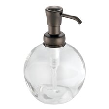 York Glass Pump Soap Dispenser