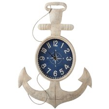 Anchor Ivory Iron Wall Clock