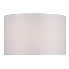"16"" Solid Fabric Drum Lamp Shade"