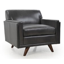 Milo Leather Club Chair by Moroni