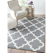 Sherrer Gray Area Rug