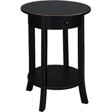 Olivia Round End Table by Just Cabinets Furniture and More