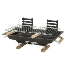"16.5"" Steel Hibachi Portable Charcoal Grill"