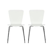 Bentwood Solid Wood Dining Chair (Set of 2)