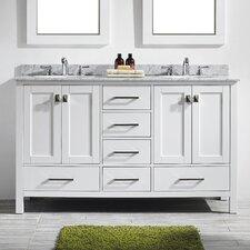 Aberdeen 60 Double Bathroom Vanity Set by Eviva