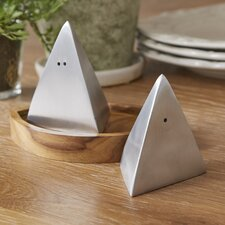 Abstract Sailboat Salt & Pepper Shakers