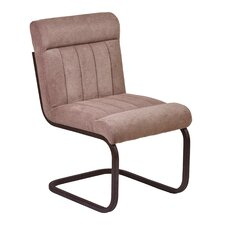 Keely Parsons Chair With Brown Upholstery