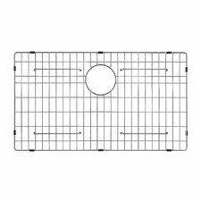 "Stainless Steel 27.5"" x 15.65"" Sink Grid"