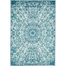 Ford Turquoise Area Rug