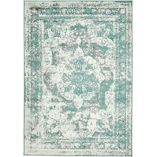 Brandt Turquoise/Gray/White Area Rug