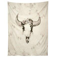 Romantic Boho Buffalo III Tapestry