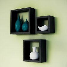 Natalia 3 Piece Wall Cube Set