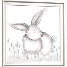 Forest Riley Rabbit Framed Art