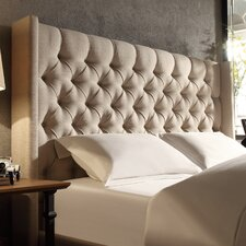 Crawley Upholstered Wingback Headboard