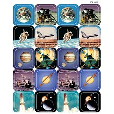 Space Thematic Sticker (Set of 4)
