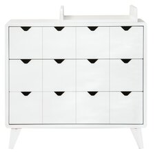 Mont Blanc 3 Drawer Chest of Drawers