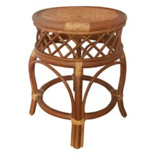 Mary Rattan Wicker Stool by Rattan Wicker Home Furniture
