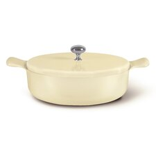 """Liquida 9.76"""" Non-Stick Frying Pan with Lid"""