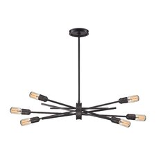 York 6-Light Sputnik Chandelier