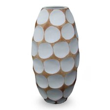 Polka Dot Mango Table Vase