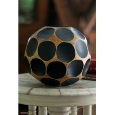 Fair Trade Modern Mango Table Vase