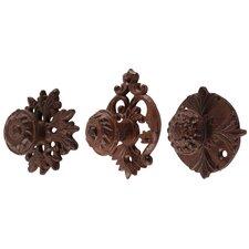 3 Piece Cast Iron Door Knob