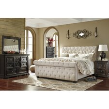 Sleigh Bedroom Sets You\'ll Love | Wayfair