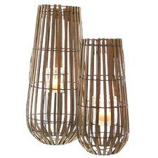 Wood and Metal Tea Light