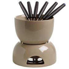 8-tlg. Schokoladenfondue-Set InfusionsT aus Keramik