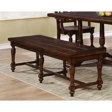 Wood Dining Bench by BestMasterFurniture