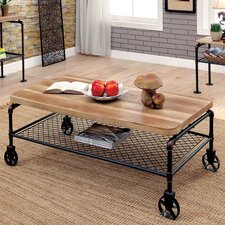 Doran Coffee Table with Magazine Rack by 17 Stories