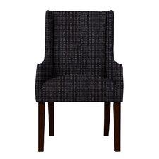 Larrabee Birch Hardwood Framed Arm Chair