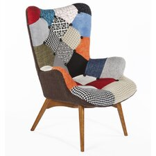 The Luxe Teddy Wingback Chair by dCOR design