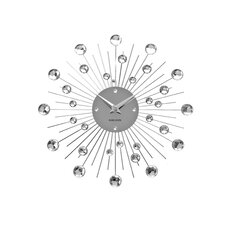 30cm Sunburst Crystal Wall Clock