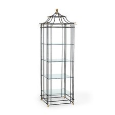 Chelsea Bamboo 84 Etagere Bookcase by Bloomsbury Market