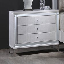 3 Drawer Nightstand by Best Quality Furniture