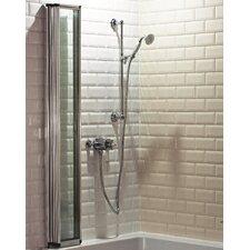 140 x 80cm Folding Bath Screen