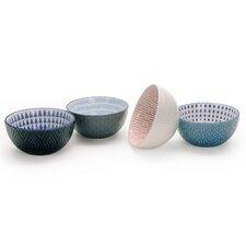 Chervil 28 oz. 4 Piece Pad Print Bowl Set