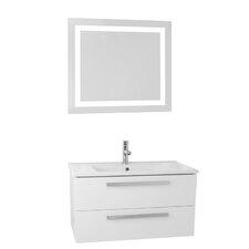 Dadila 24.4 Single Bathroom Vanity Set with Mirror by Nameeks Vanities